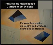 """Capa do e-book """"Práticas de Flexibilidade Curricular em Diálogo"""
