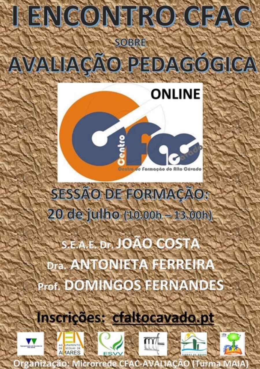 I Encontro CFAC sobre Avaliação Pedagógica