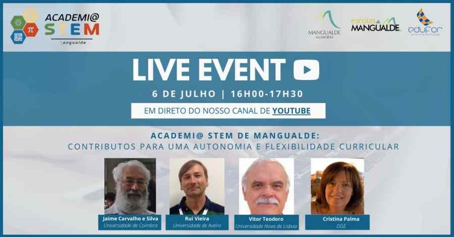 Live event - academia stem de mangualde